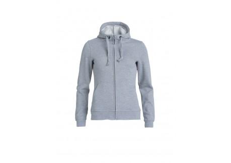 Dame Full zip hooded trøje