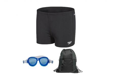 Svømmepakke - Buks - brille - pose, dreng