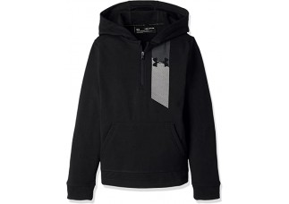 Under Armour  Threadborne Ft 1/2 Zip Hood - drenge